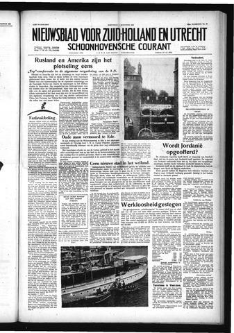 Schoonhovensche Courant 1958-08-06