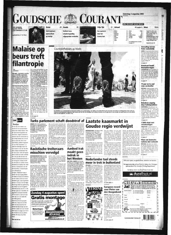Goudsche Courant 2002-08-03