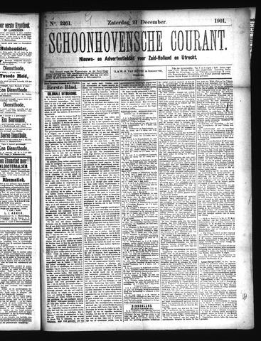 Schoonhovensche Courant 1901-12-21