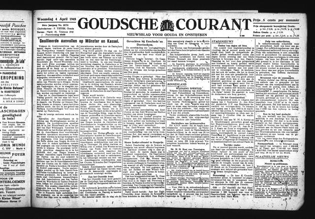 Goudsche Courant 1945-04-04