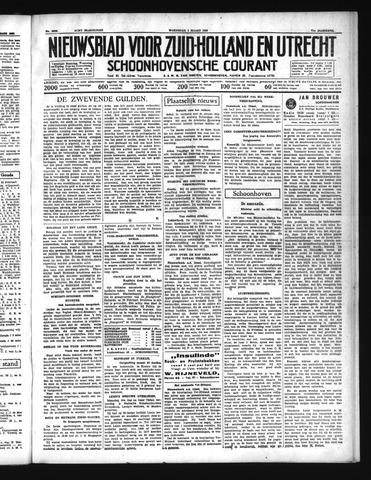 Schoonhovensche Courant 1939-03-01