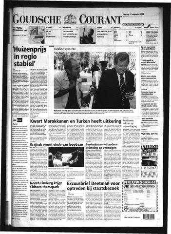 Goudsche Courant 2002-08-27