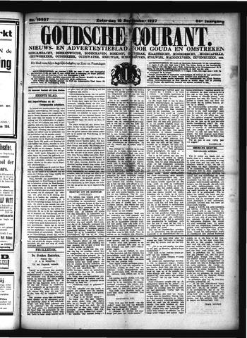 Goudsche Courant 1927-09-10