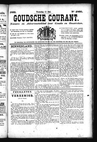 Goudsche Courant 1892-06-15
