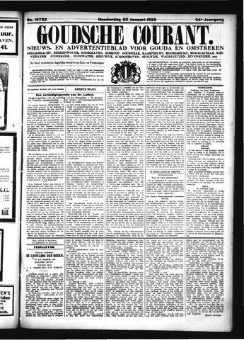 Goudsche Courant 1925-01-22
