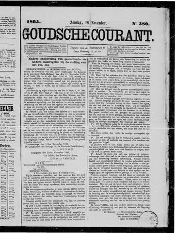 Goudsche Courant 1865-11-19