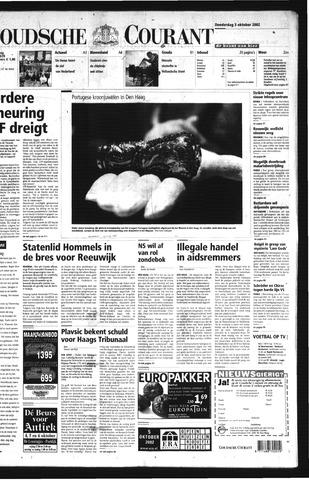 Goudsche Courant 2002-10-03