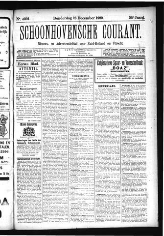 Schoonhovensche Courant 1920-12-23