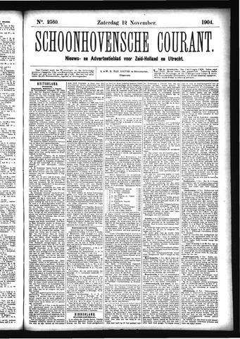 Schoonhovensche Courant 1904-11-12