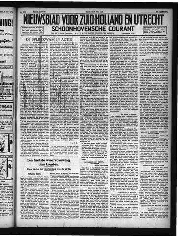 Schoonhovensche Courant 1940-07-22