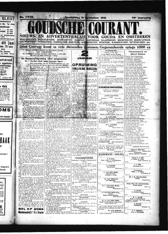 Goudsche Courant 1931-12-31