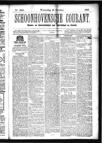 Schoonhovensche Courant 1901-10-23