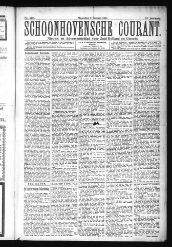 Schoonhovensche Courant 1922-01-09