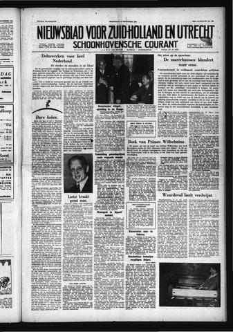 Schoonhovensche Courant 1958-09-24
