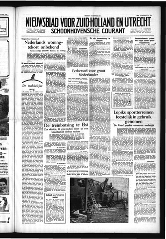 Schoonhovensche Courant 1954-10-15