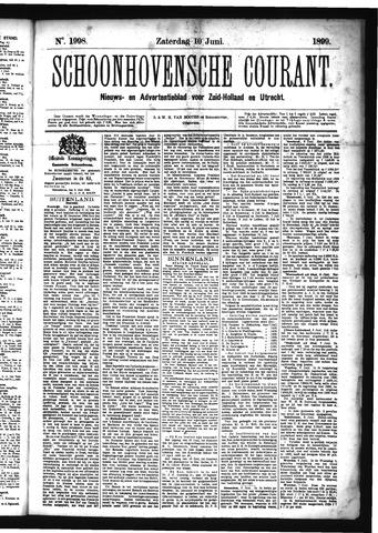 Schoonhovensche Courant 1899-06-10
