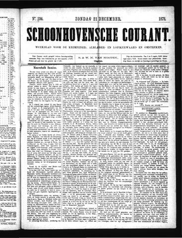 Schoonhovensche Courant 1873-12-21