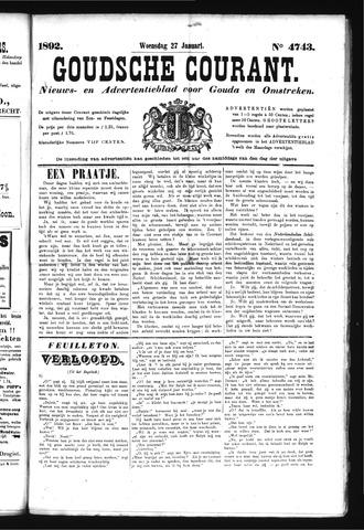 Goudsche Courant 1892-01-27