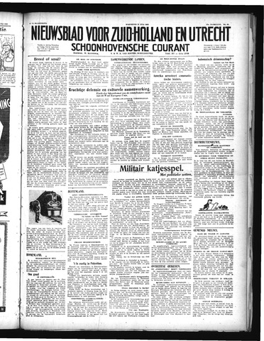 Schoonhovensche Courant 1948-07-21