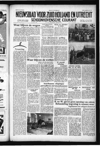 Schoonhovensche Courant 1957-11-29