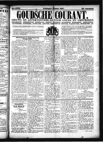 Goudsche Courant 1927-10-14