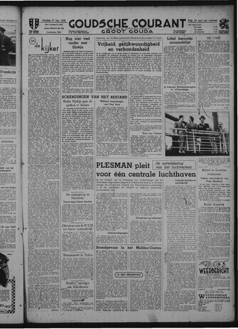 Goudsche Courant 1948-01-27