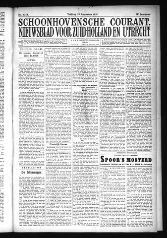Schoonhovensche Courant 1927-08-19