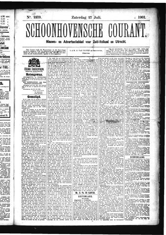 Schoonhovensche Courant 1901-07-27