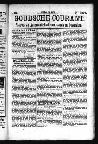 Goudsche Courant 1881-04-15