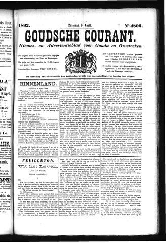 Goudsche Courant 1892-04-09