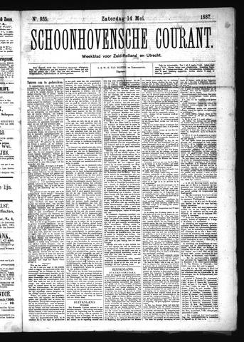 Schoonhovensche Courant 1887-05-14