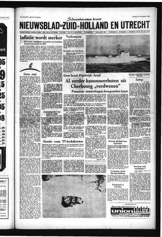Schoonhovensche Courant 1969-12-30