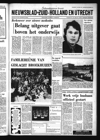 Schoonhovensche Courant 1975-10-01