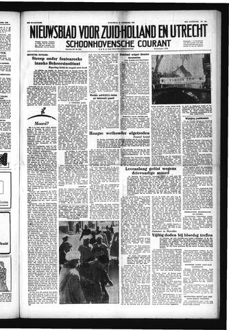 Schoonhovensche Courant 1952-12-10
