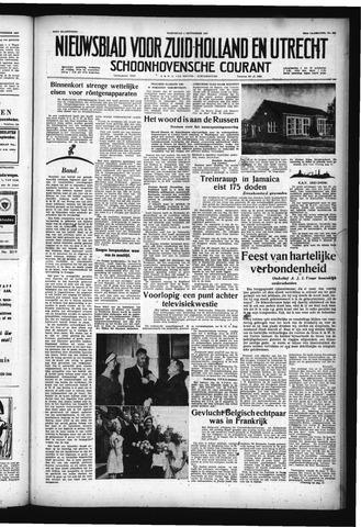 Schoonhovensche Courant 1957-09-04