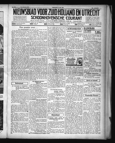 Schoonhovensche Courant 1936-06-10