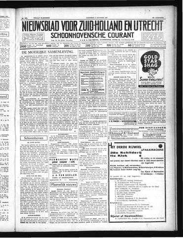 Schoonhovensche Courant 1937-10-06