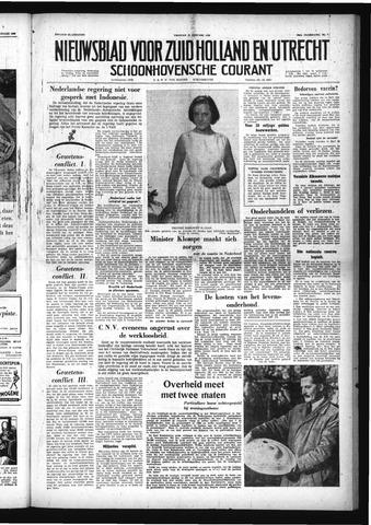 Schoonhovensche Courant 1958-01-17