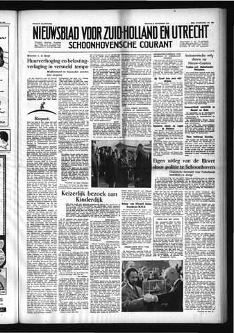 Schoonhovensche Courant 1954-11-05