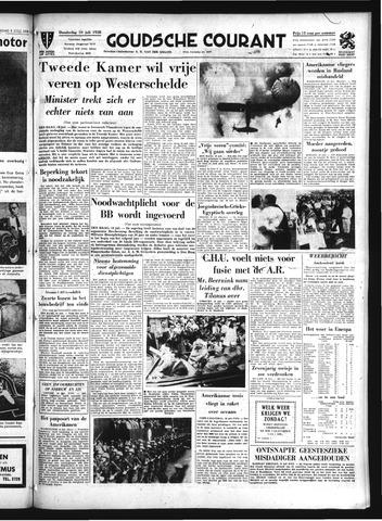 Goudsche Courant 1958-07-10
