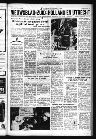 Schoonhovensche Courant 1963-01-25