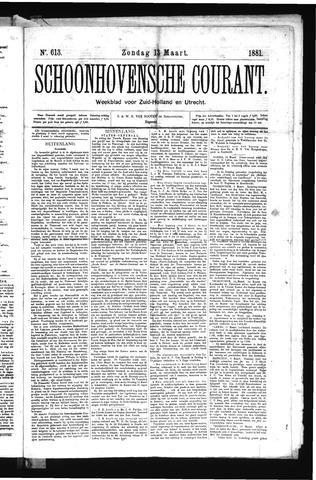 Schoonhovensche Courant 1881-03-13