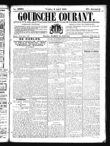 Goudsche Courant 1918-04-05