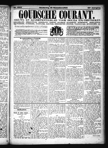 Goudsche Courant 1925-11-26