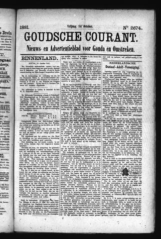 Goudsche Courant 1881-10-14