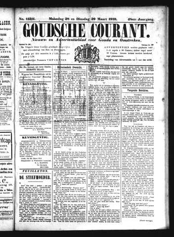 Goudsche Courant 1910-03-29
