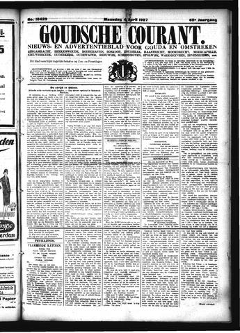 Goudsche Courant 1927-04-04
