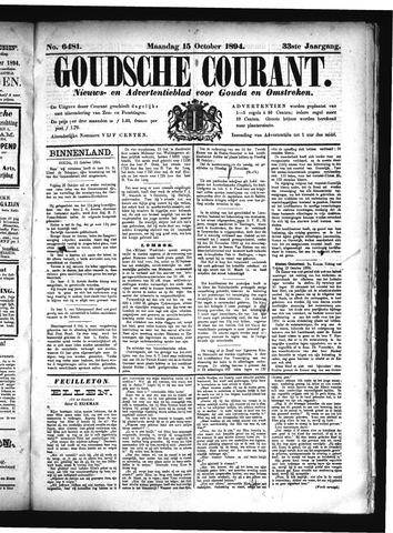 Goudsche Courant 1894-10-15