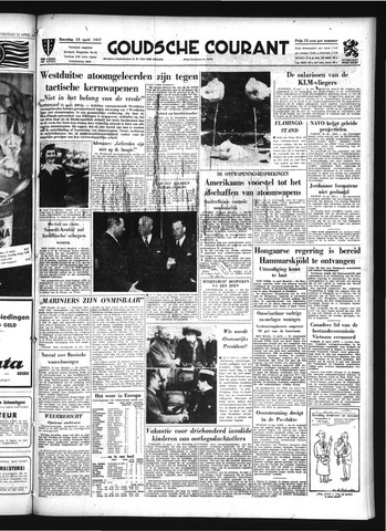 Goudsche Courant 1957-04-13