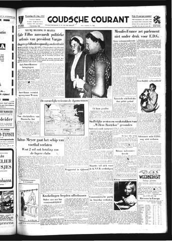 Goudsche Courant 1954-08-25